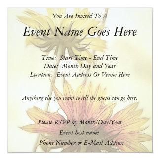 Meadow Fantasy - Gaillardia Custom Invitations