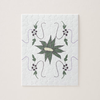 Meadow flower puzzles