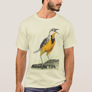 Meadow Lark Adult T-Shirt