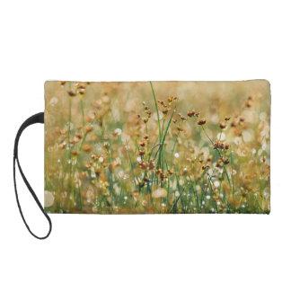 Meadow Morning Dew Wristlet