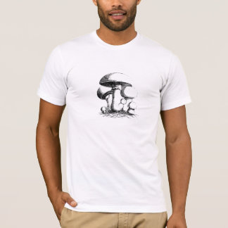 Meadow Mushrooms Mens T-Shirt