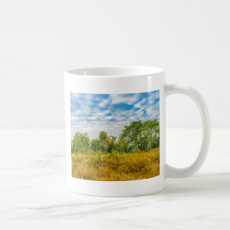 Meadow Tropical Landscape Scene, Guayaquil Coffee Mug