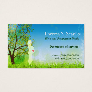 Meadow Walk Doula Midwife Business Card