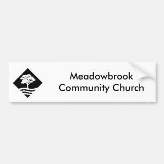 Meadowbrook Bumpersticker Bumper Sticker