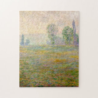 Meadows at Giverny Monet Fine Art Jigsaw Puzzle