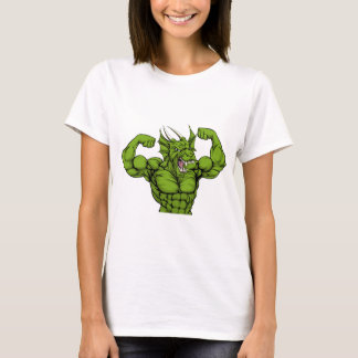 Mean Dragon Mascot T-Shirt