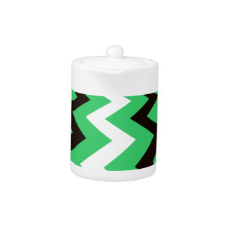 Mean Green and White Fast Lane Chevrons