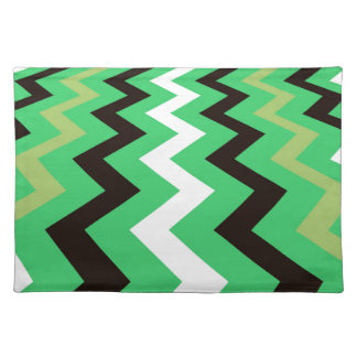 Mean Green Fast Lane Chevrons Placemat