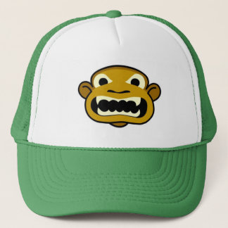 mean monkey trucker hat
