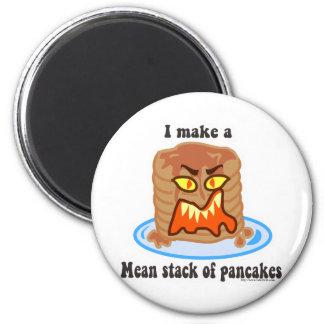 Mean Pancake 6 Cm Round Magnet