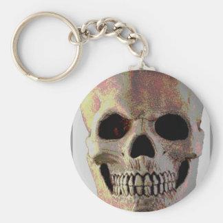 Mean Skull Keychains