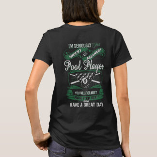 Meanest and Nicest Pool Players Billiards T-Shirt