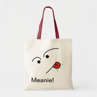 Meanie! Tote Bag - A Funny Face Design