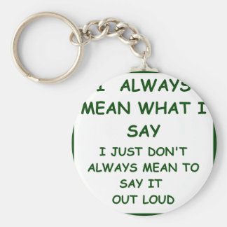 MEANING KEYCHAIN