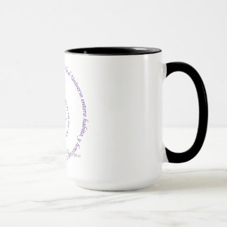 Meaning of Namaste' en Espanol Mug