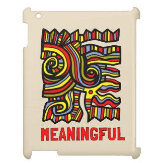 """""""Meaningful"""" iPad, iPad Mini, iPad Mini 2, iPad Ai iPad Cases"""