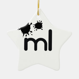 Meaningful living room brand and lifestyle ceramic star decoration