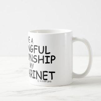 Meaningful Relationship Bass Clarinet Coffee Mug