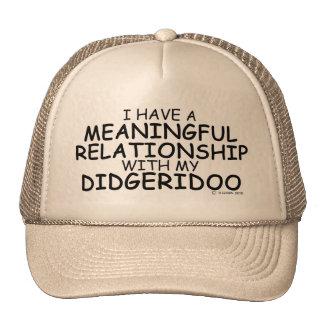 Meaningful Relationship Didgeridoo Trucker Hats