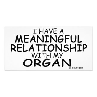 Meaningful Relationship Organ Picture Card