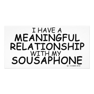 Meaningful Relationship Sousaphone Photo Cards