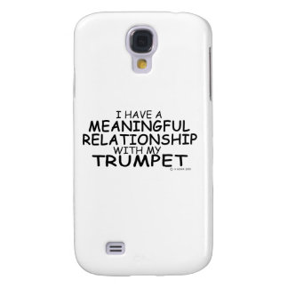 Meaningful Relationship Trumpet Galaxy S4 Cases