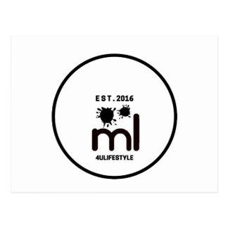 MeaningfulLiving Brand circle logo Postcard