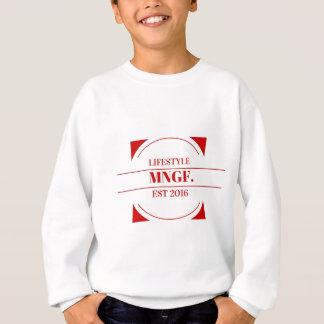 MeaningfulLiving Brand red brand logo Sweatshirt