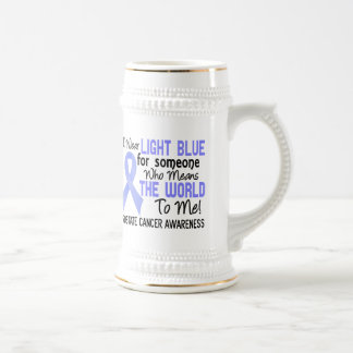 Means The World To Me 2 Prostate Cancer Beer Steins