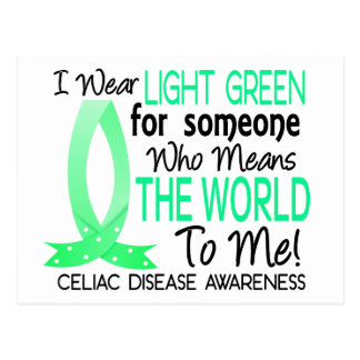 Means The World To Me Celiac Disease Postcard