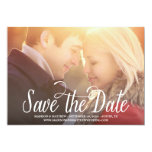 Meant to Be | Save the Date Announcement 13 Cm X 18 Cm Invitation Card