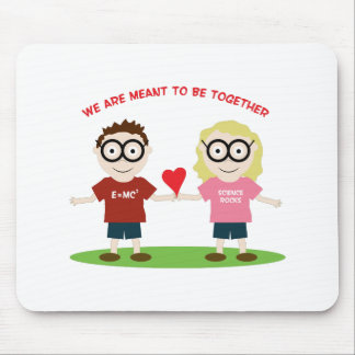 Meant To Be Together Mouse Pad