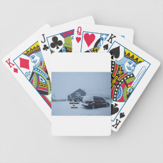 Meanwhile in Canada... Bicycle Playing Cards