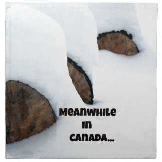 Meanwhile in Canada... Napkin