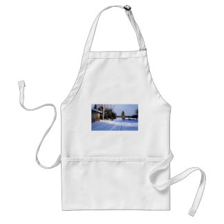Meanwhile in Canada, Winter! Standard Apron