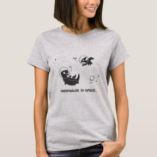 Meanwhile In Space - Grey T-Shirt