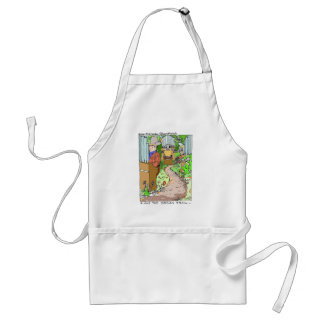 Meanwhile On The Organ Trail Funny Tees Mugs Etc. Standard Apron