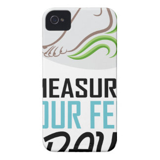 Measure Your Feet Day - Appreciation Day iPhone 4 Case