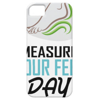 Measure Your Feet Day - Appreciation Day iPhone 5 Covers