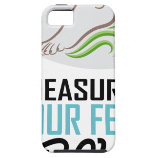 Measure Your Feet Day - Appreciation Day Tough iPhone 5 Case