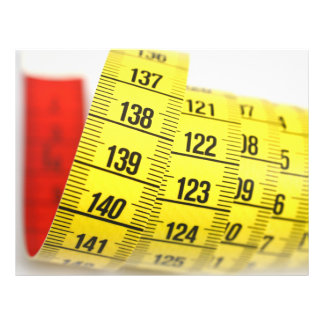 Measuring tape flyer design