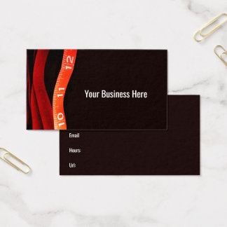 Measuring Tape Healthy Weight Custom Business Card