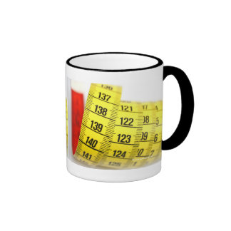 Measuring tape mugs