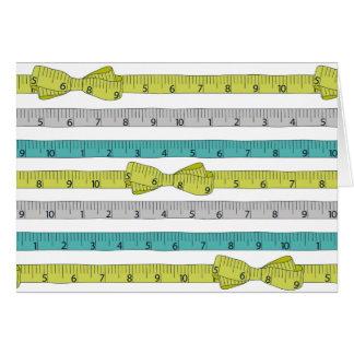 Measuring Tape notecard