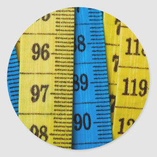 Measuring tapes stickers