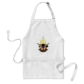 Meat Fire Beer Father's Day BBQ Apron