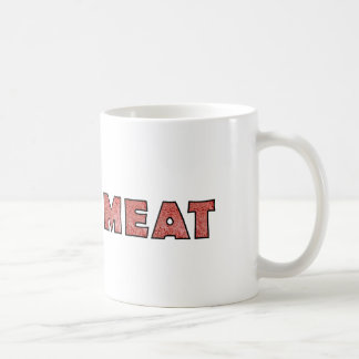 Meat Funny Ground Beef Basic White Mug