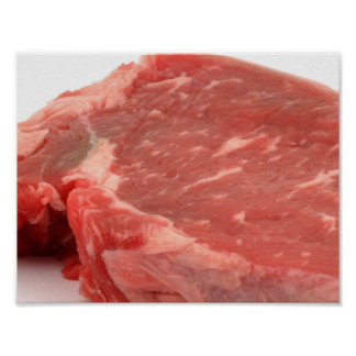 Meat Is Art Poster