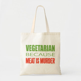 Meat Is Murder - Anti-Meat Tote Bag