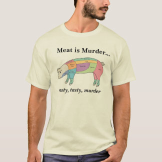 Meat is Murder - Hog T-Shirt